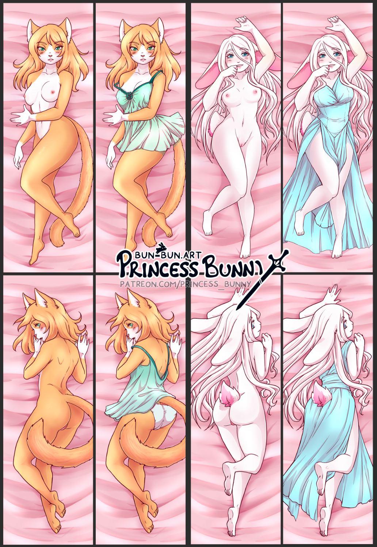 Princess Bunny Dakimakuras